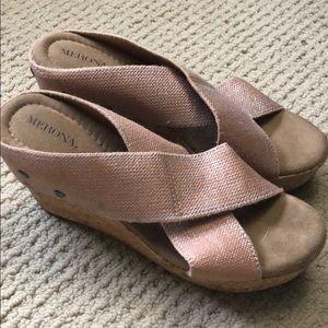 Merona wedge sandals 8.5